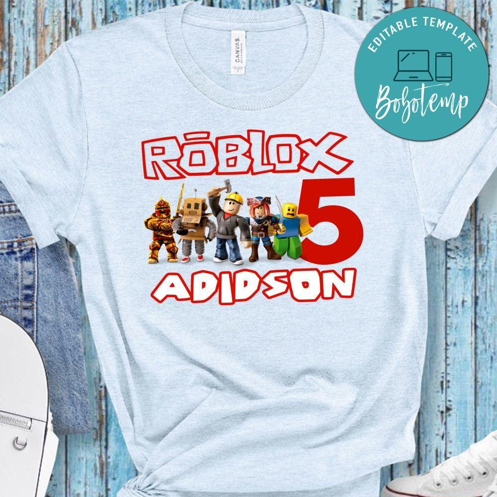 Vn Shirt Roblox Editable Product Label Template Instantly Personalize Bobotemp