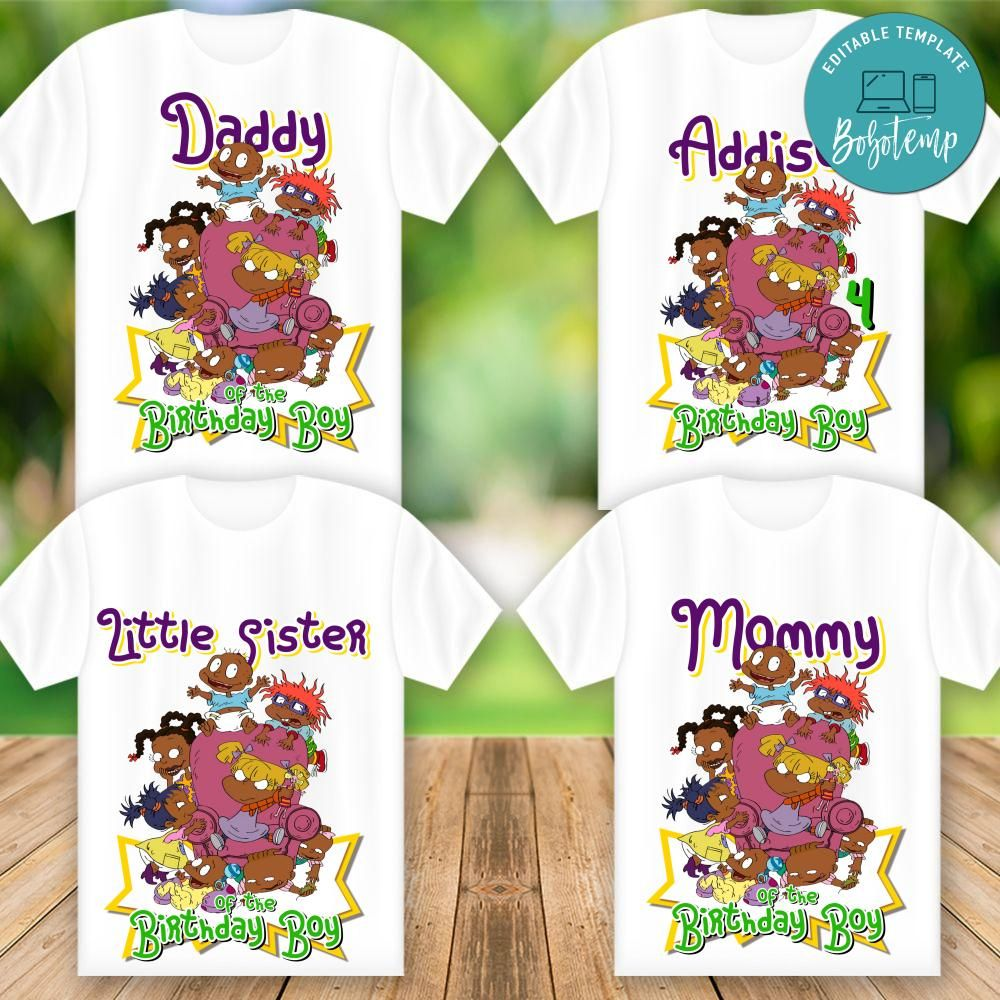 Printable African American Rugrats T